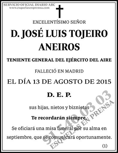 José Luis Tojeiro Aneiros